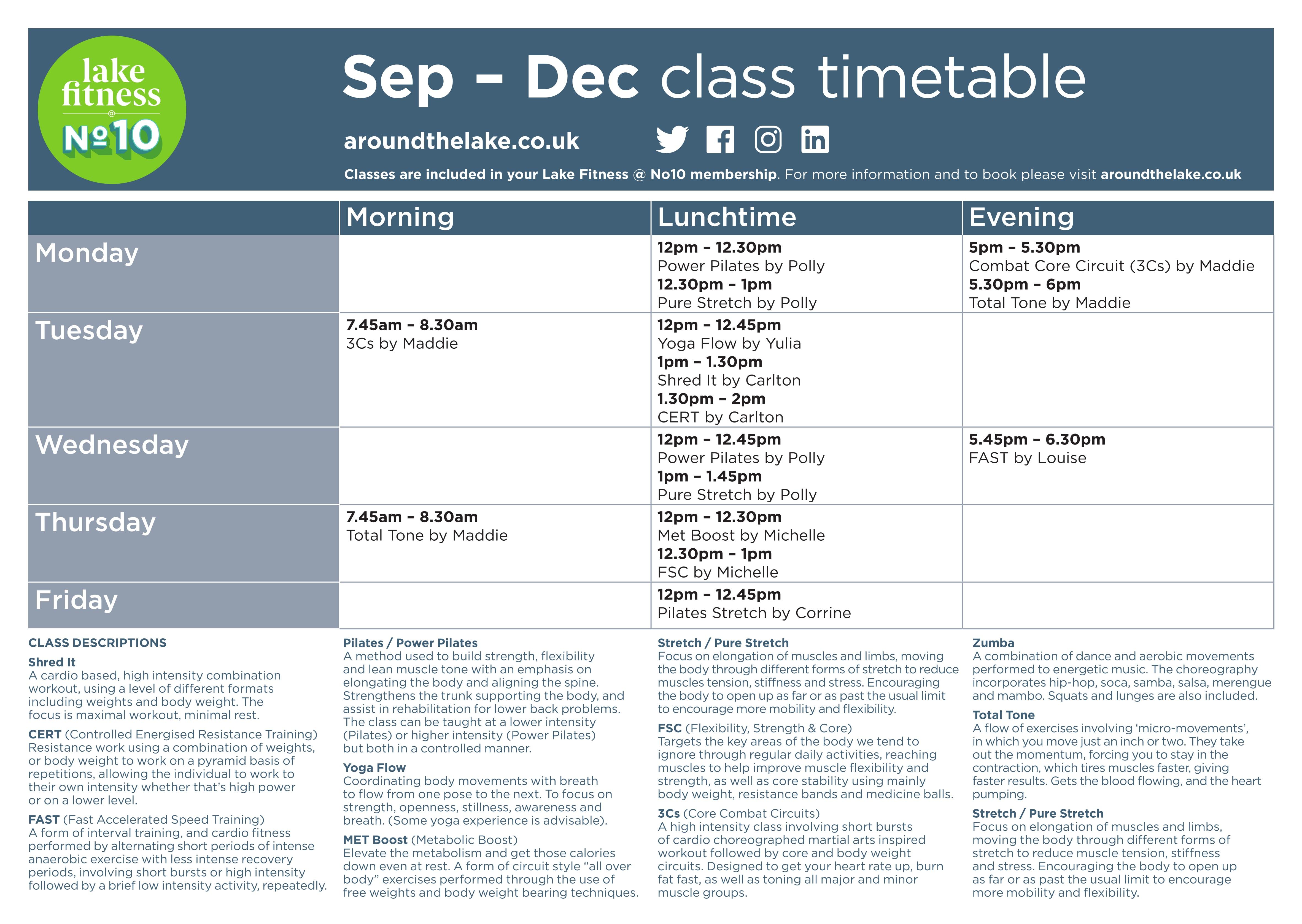 Class timetables v5 A2-1