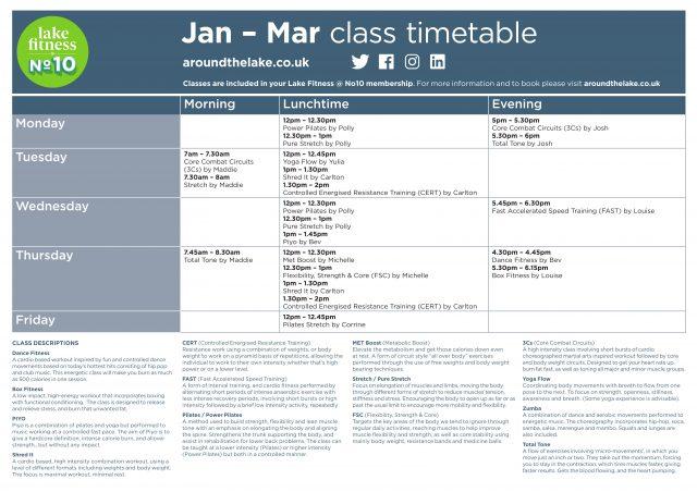 Class timetables v9 A1-1